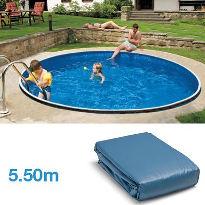 liner per piscina fuori terra tonda diametro