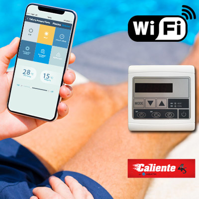 Kit Wifi per pompa di calore CALIENTE BLACK EDITION 4S/4SV