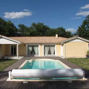 Kit piscine fai da te per la costruzione di piscine interrate - Pavimento in legno per esterno fai da te ...