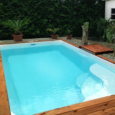 62ae8c2338ff Kit piscina in vetroresina al miglior prezzo