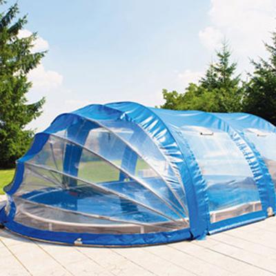Coperture telescopiche per piscina ai migliori prezzi for Piscina fuori terra normativa