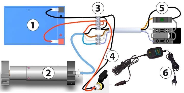 Schema Elettrico Per Motore Tapparelle : Serranda automatica eca bahia mobile su binari