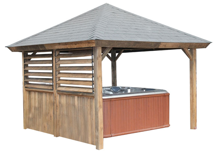Gazebo Piramid Roof