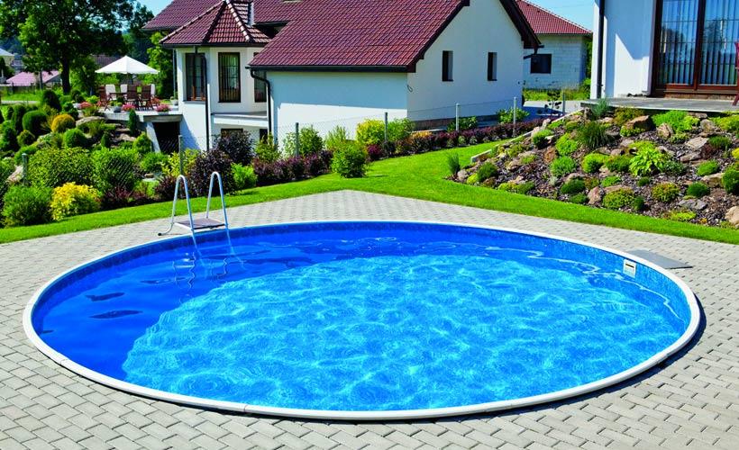 Liner per piscina fuori terra tonda diametro for Liner per piscine