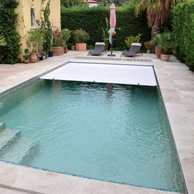 Vendita di coperture a serranda piscina in vendita al for Spot piscine desjoyaux